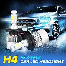 2X H4 9003 HB2 Philips COB LED Headlight 160W 16000LM Hi/Lo Power Bulbs 6500K
