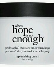 PHILOSOPHY When Hope Is Not Enough Replenishing Cream 2 OZ NEW AND SEALED FRESH