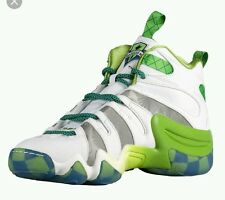 New Adidas Crazy 8 MLS Seattle Saunders Basketball Shoes Men US 8.5 White Green