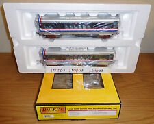 MTH 30-2755-3 CTA CHICAGO BICENTENNIAL 2-CAR 6200 SERIES SUBWAY TRAIN O GAUGE