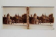 Cambodge Exposition coloniale de Paris 1931 Stéréo Vintage Positif
