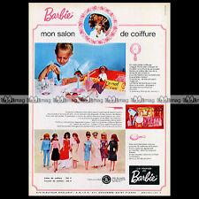 Mattel Vintage BARBIE 'Salon de coiffure' - 1966 Pub / Publicité / Ad #A129
