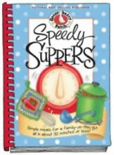 Gooseberry Patch - Speedy Suppers Cookbook (Spiral Bound Hardcover)