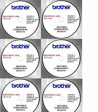 BUY ANY 2 CDS & GET FREE FONT CD, BROTHER CARDS 1- 66 PES NV1