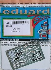 Eduard 1/72 SS565 Colour Zoom etch for Revell Saab JAS-39D Gripen kit