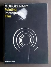 Painting Photography Film Laszlo MOHOLY-NAGY Bauhaus book ENGLISH Modernism RARE