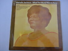 Mahalia Jackson ‎– What The World Needs Now LP, Aus, NM