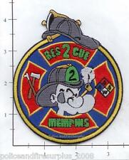 Tennessee - Memphis Rescue 2 TN Fire Dept Patch Popeye
