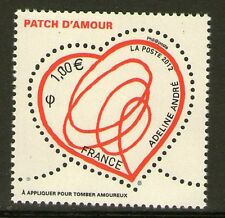 TIMBRE 4632 NEUF XX LUXE - COEUR DE ADELINE ANDRE - LE PATCH D'AMOUR