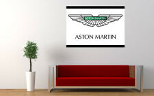 ASTON MARTIN LOGO NEW GIANT LARGE ART PRINT POSTER PICTURE WALL