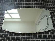 Antiker Badspiegel Spiegel Wandspiegel mit Facetteschliff  Kristallspiegel