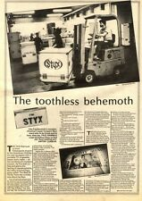 25/4/81PN15 ARTICLE & PICTURE(S) STYX (TOMMY SHAW/JAMESYOUNG)