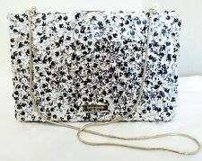KATE SPADE ALL THAT GLITTERS EMANUELLE CLUTCH PARTY PURSE BAG $328 NWT