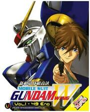 Mobile Suit Gundam Wing DVD (Eps : 1 to 49 end) + Movie (English Dubbed)