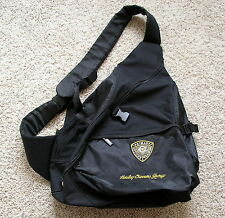HARLEY DAVIDSON Back Sling pack Harley Owners Group Primary Officer training
