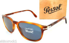 Authentic PERSOL Light Tortoise Sunglass PO 3019 - 96/56 - 55mm  *NEW*
