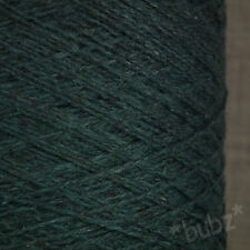 GORGEOUS SOFT CASHMERE LAMBSWOOL PETROL 250g CONE 5 BALLS PURE NATURAL WOOL YARN