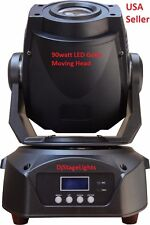NEW DJ 90w LED LIGHTING GOBO MOVING HEAD 90watt DMX STAGE PARTY SHOW