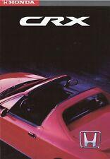 Prospekt Honda CRX Cabrio 4 93 1993 brochure Auto PKWs Autoprospekt Japan