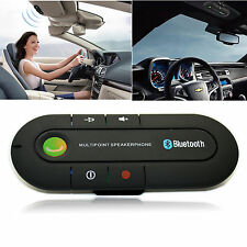 Bluetooth 4.1 Car Kit Hands-Free Wireless Talking Built in Mic Speakerphone