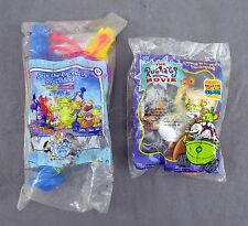 Burger King Rugrats Movie Reptarland Tommy Kids Meal Toys - Set of 2