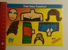 Aufkleber/Sticker: Bi-fi Carazza fit for Fun finde deine Traumfrau (06081654)