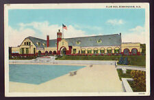 BIRMINGHAM ALABAMA AL 1938 Club Rex Pool Vintage Postcard PC