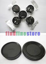 5x Rear lens + Body cap cover for Minolta MD MC SLR camera Wholesale lots 5 pcs