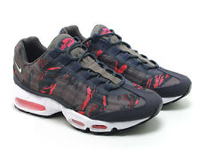 2013 Nike Air Max 95 PRM Tape SZ 10 Petra Brown Atomic Red CAMO SP 599425-260
