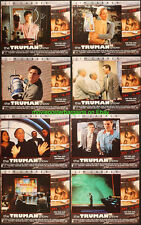 THE TRUMAN SHOW LOBBY CARD size 11x14 Inch MOVIE POSTER Complete Set JIM CARREY!