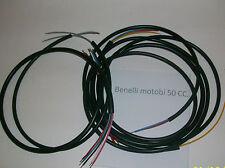 IMPIANTO ELETTRICO ELECTRICAL WIRING MOTO BENELLI 50 A PUNTINE+SCHEMA ELETTRICO