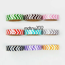 10pcs Washi Paper Scrapbook Decorative Sticker Masking Adhesive Tape Roll