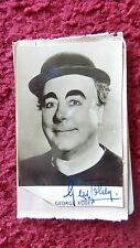 ACTOR / COMEDIAN GEORGE ROBEY AUTOGRAPHED PHOTO