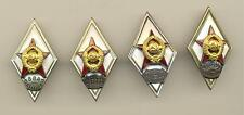 RUSSIAN red star SOVIET Badge  Military School Academy  (2282)