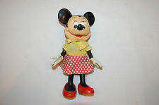 "8"" Minnie Mouse Walt Disney Productions Hong Kong Toy"