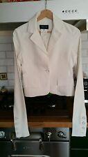 giacca blazer avvitata bianca donna patrizia pepe taglia 40 manica a guanto