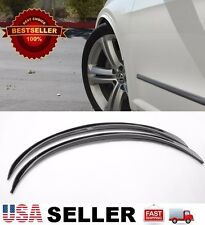 "Black 1"" Arch Extension Aero Diffuser Protector Guard Fender Flares For Chevy"