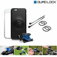 Quad Lock Bike Kit for iPhone 7 = Phone Case + Bike Mount + Weatherproof Cover