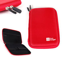 Red Hard EVA Cover Case for Sony DVP-FX750 / Sony DVPFX780 7-Inch DVD Player