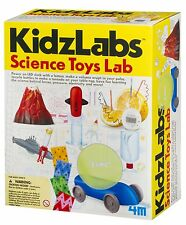 Science Toys Lab 8 home experiment science kit by 4M Kidzlabs