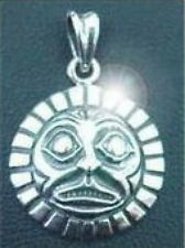 LOOK Tribal Haida Mask sterling silver .925 pendant charm
