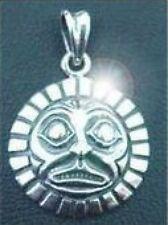 LOOK Tribal Haida Mask sterling silver .925 pendant charm
