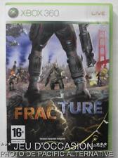 OCCASION: Jeu FRACTURE xbox 360 microsoft game francais action guerre combats