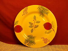 Zrike China Pomegranate Pattern Salad Plate 9 1/8""