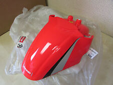 DERBI OEM   RED FRONT FENDER - ATLANTIS BULLET O2 50cc