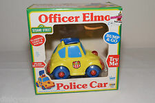 SESAME STREET ILLCO TOY VW VOLKSWAGEN BEETLE KAFER POLICE CAR NEAR MINT BOXED