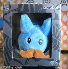 "Kidrobot Happy Labbit Plush ""Cute N' Crazy"" Mini Series 2015 - blue"