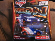 Disney Pixar Cars Neon Racer Raoul CaROULE TARGET ONLY