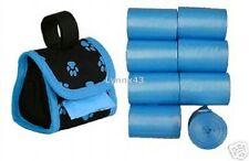 1000  Blue Dog Pet waste Poop Bag/ Blue paw Dispenser