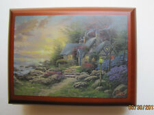 "Thomas Kinkade Wooden  Music Box  - ""Seaside Hideaway""  NIB Item# 0110812003"